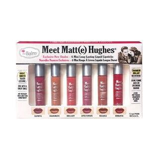 theBalm Meet Matt(e) Hughes Vol. 2 Long-Lasting Mini Liquid Lipstick Set|https://ak1.ostkcdn.com/images/products/17138884/P23404755.jpg?_ostk_perf_=percv&impolicy=medium