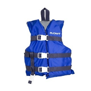 Waterbrands Flowt All-Purpose Youth Life Vest, Blue