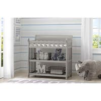Delta Children Wooden Changing Table, Grey