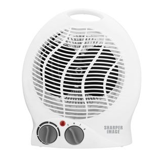 Sharper Image White Table Top Adjustable Heater