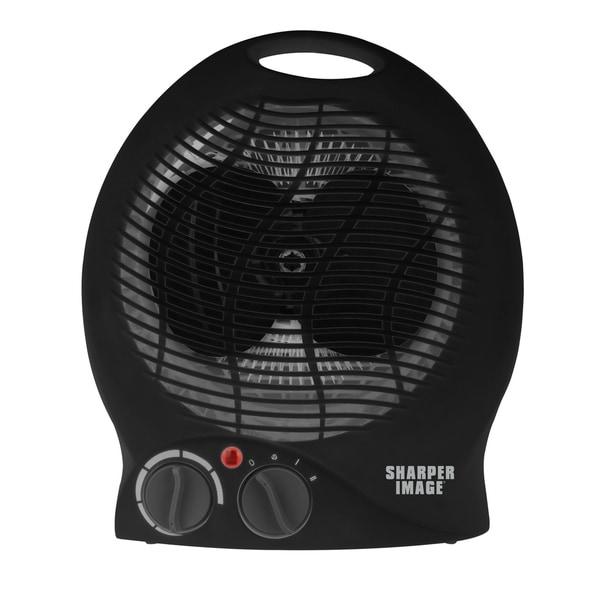 Shop Sharper Image Black Table Top Adjustable Heater