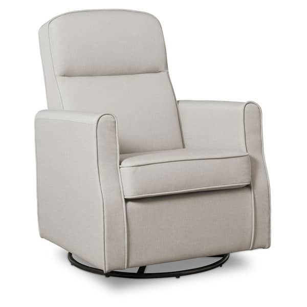Slim Nursery Glider Swivel Rocker Chair