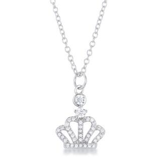 Tabitha 0.5 ct Crown Pendant