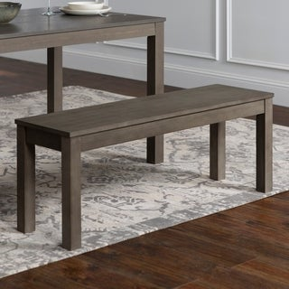 Homestead Simple Brown Wood 48-inch Dining Bench