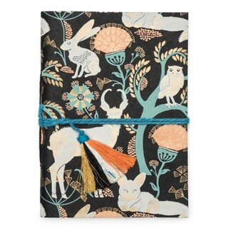 Handmade Fauna Journal - Brown Brama (India)