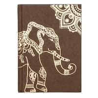 Handmade Golden Elephant Journal (India)