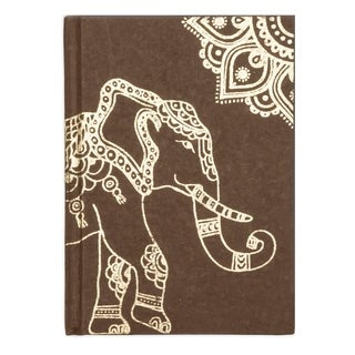 Handmade Golden Elephant Journal (India)