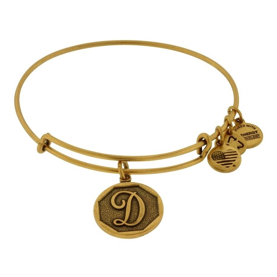 And Ani Initial D Charm Bangle Bracelet