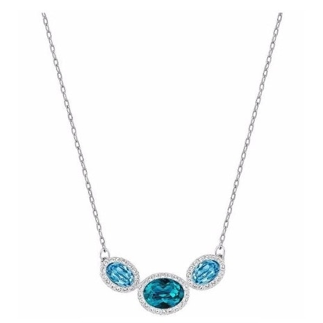 773fe3bf4 Shop Swarovski Christie Oval Necklace - 5156789 - Free Shipping Today -  Overstock - 17139925