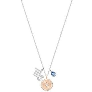 392cb0d4d Shop Swarovski Zodiac Pendant - Scorpio - Teal - Rhodium plating - 5349222  - Ships To Canada - Overstock - 17140367