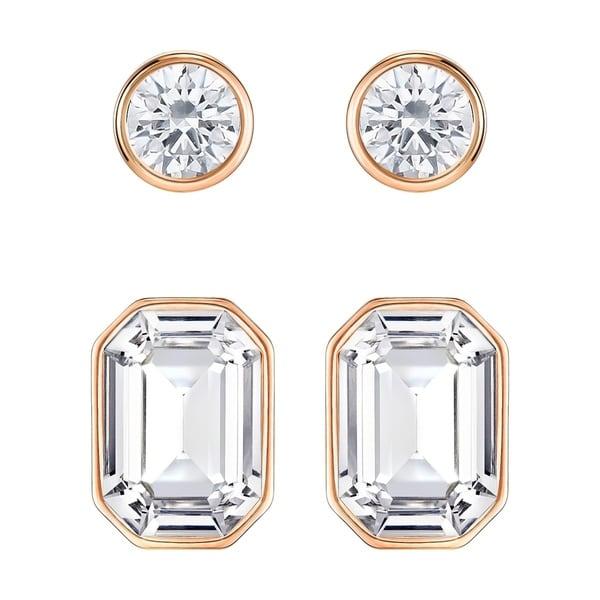 5849d6975 Shop Swarovski Harley Pierced Earrings - 5188423 - Free Shipping Today -  Overstock - 17140449