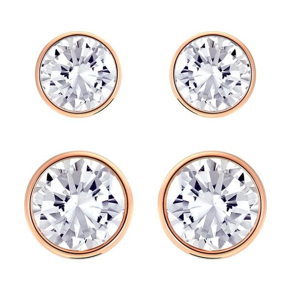 aae80abe9 Shop Swarovski Harley Medium Pierced Earrings Set - 5205701 - Free Shipping  Today - Overstock - 17140468