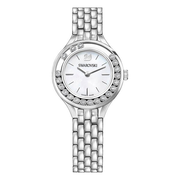 329c165c0561 Shop Swarovski Lovely Crystals Mini Silver Tone Ladies Watch 5242901 - Free  Shipping Today - Overstock - 17140484