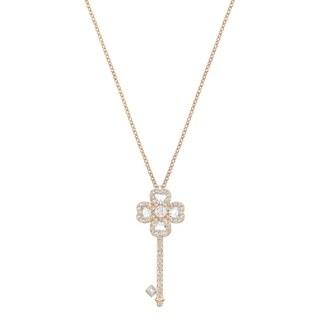 Swarovski Deary Key Pendant - Small - White - 5345157