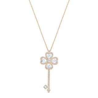 Swarovski Deary Key Pendant - Large - White - 5345156