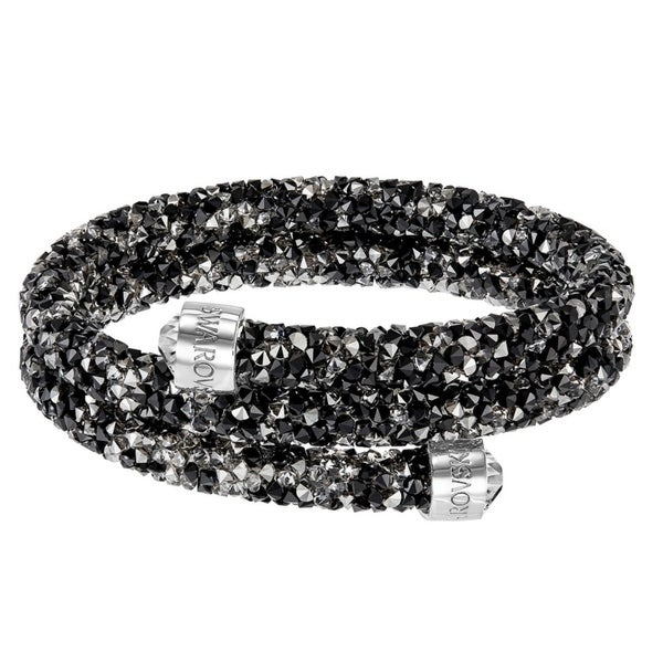 f4f899871 Shop Swarovski Crystaldust Bangle Double - Dark Crystals - 5237757 ...