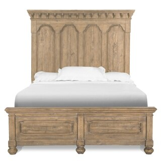 Graham Hills Farmhouse Cracked Wheat King Panel Bed