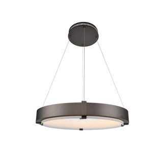 Kalco Halo 27-inch LED Ring Pendant