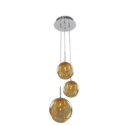 Kalco Meteor 3 Light Pendant