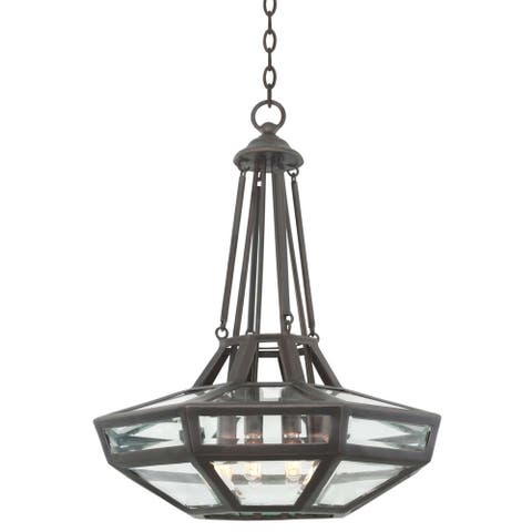 Kalco 503350HB Eight Light Pendant Pompano Heirloom Bronze - One Size