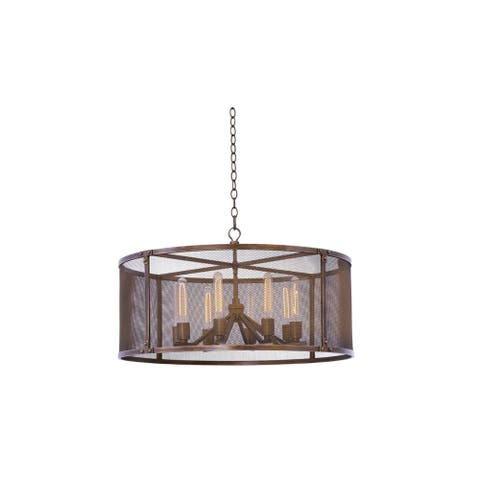 Kalco 502151CP Eight Light Pendant Chelsea Copper Patina - One Size