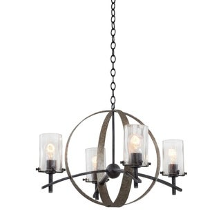 Kalco Irvine 4-light Chandelier