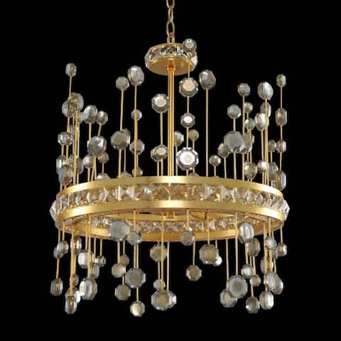 Allegri 030750037FR001 LED Pendant Fortuna Vienna Gold Leaf - One Size