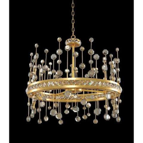 Allegri 030751037FR001 LED Pendant Fortuna Vienna Gold Leaf - One Size