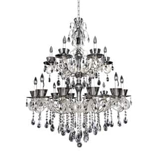 Allegri Locatelli 18 Light Chandelier W/Swarovski Elements Crystal|https://ak1.ostkcdn.com/images/products/17141775/P23407322.jpg?impolicy=medium