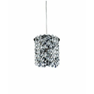 Allegri Milieu 1-light Mini Round Pendant with Clear Firenze