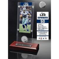 Sean Lee Ticket & Minted Coin Acrylic Desk Top - Multi-color