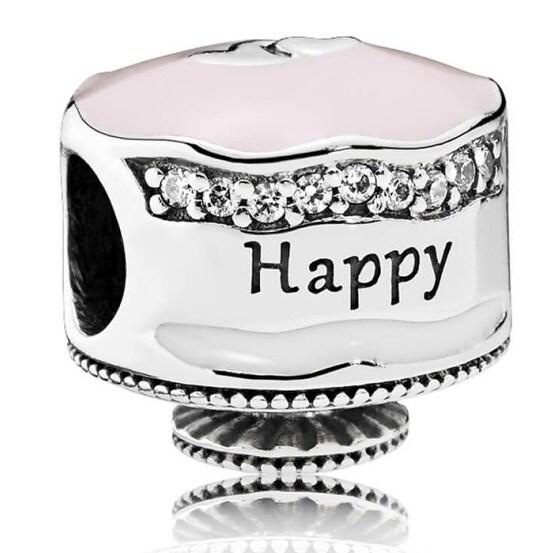 Remarkable Shop Pandora Happy Birthday Cake Charm 792061Enmx Overstock Birthday Cards Printable Opercafe Filternl
