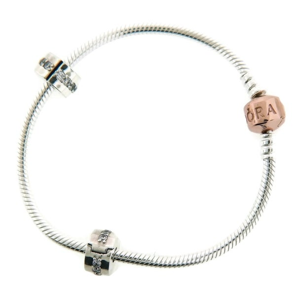 008ec0b51 Shop Pandora Rose Iconic Bracelet Gift Set - B800539-18 - Free Shipping  Today - Overstock - 17142124
