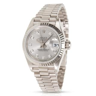 Rolex Datejust 79179 Women's Watch in White Gold|https://ak1.ostkcdn.com/images/products/17142444/P23407832.jpg?impolicy=medium