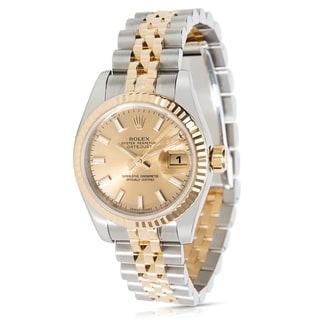 Rolex Datejust 179173 Women's Watch in 18k Yellow Gold/Stainless Steel