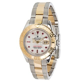 Rolex Yachtmaster 169623 Ladies Watch in 18K Yellow Gold & Stainless Steel