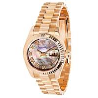 Rolex Datejust 179175 Women's Chronometer Watch in 18k Rose Gold