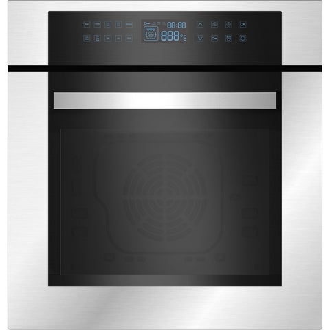 """Empava 24"""" Stainless Steel Electric Single Wall Oven KQC65C-02"""