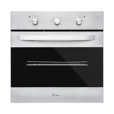 "Empava 24"" Tempered Glass Electric Built-in Single Wall Oven 2800W"