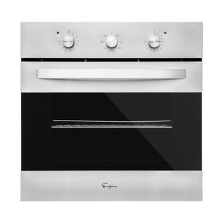 "Empava 24"" Stainless Steel Electric Single Wall Oven KQP65B-14"