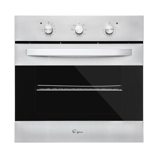 """Empava 24"""" Stainless Steel Electric Single Wall Oven"""