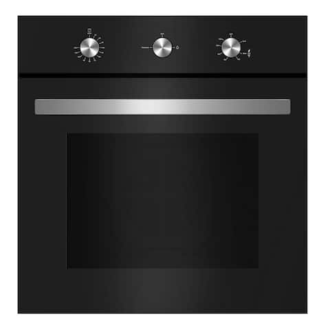 "Empava 24"" Tempered Glass Built-in Gas Single Wall Oven 110V"