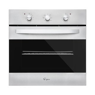 Empava  Electric Convection Single Wall Oven with Knobs Stainless Steel (B14)