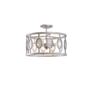 Kalco Palomar 3-light Semi-flush Lighting
