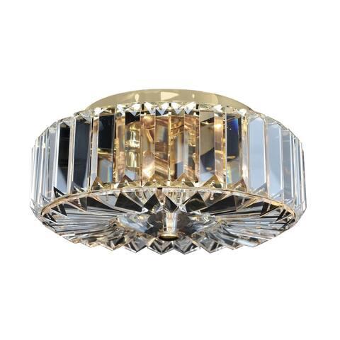 Allegri 025740018FR001 Two Light Flush Mount Julien Gold - One Size