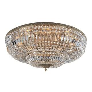 Allegri Lemire Antique Gold 14-light Flush-mount Light