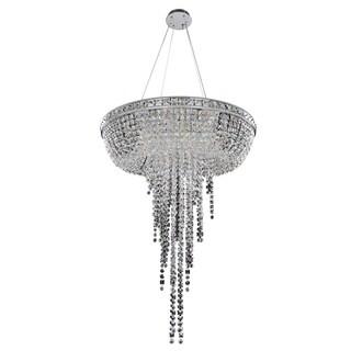 Allegri Cascata 32-inch Round Pendant/ Flush Mount Lamp