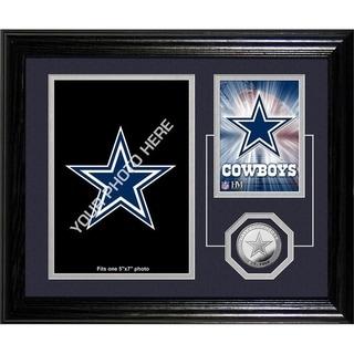"""Dallas Cowboys """"Fan Memories"""" Minted Coin Desk Top Photo Mint - Multi-color"""