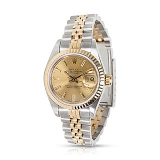 Rolex Datejust 69173 Ladies Watch in 18K Yellow Gold & Stainless Steel