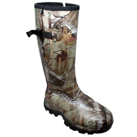 """Men's 17"""" Rubber Side Zip Boot Camo"""